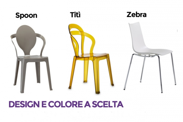 Sedie colorate design per interno r2 arredo casa tiny for Sedie design colorate